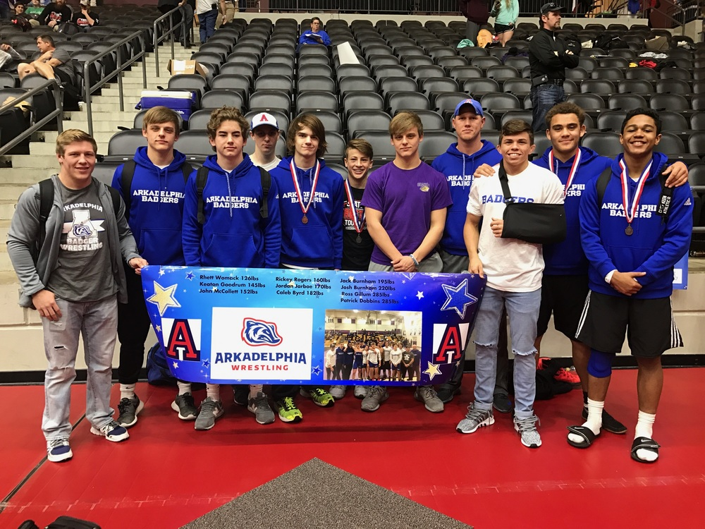 Runner-Up Finishes for Womack, Rogers Lead AHS Wrestling at State Meet