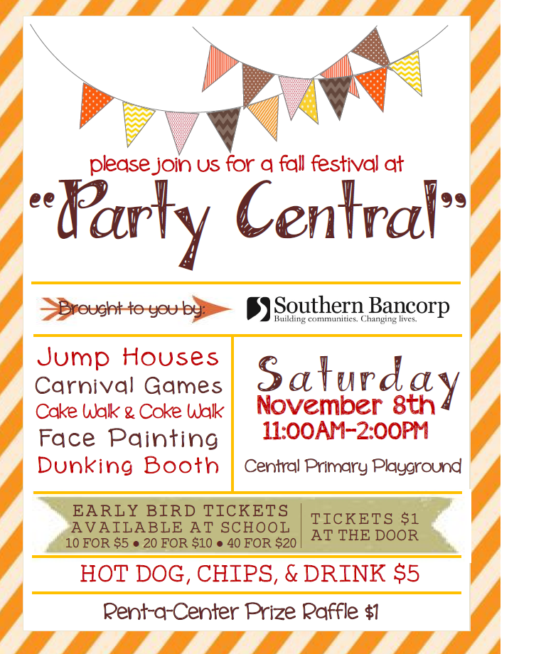 """Party Central"" Fall Festival"