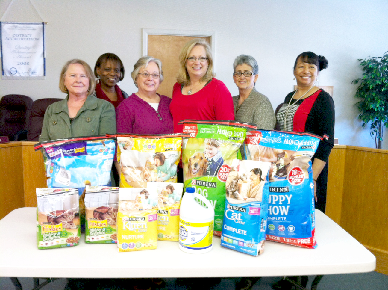 AAEOP encourages donations to the Humane Society of Clark County