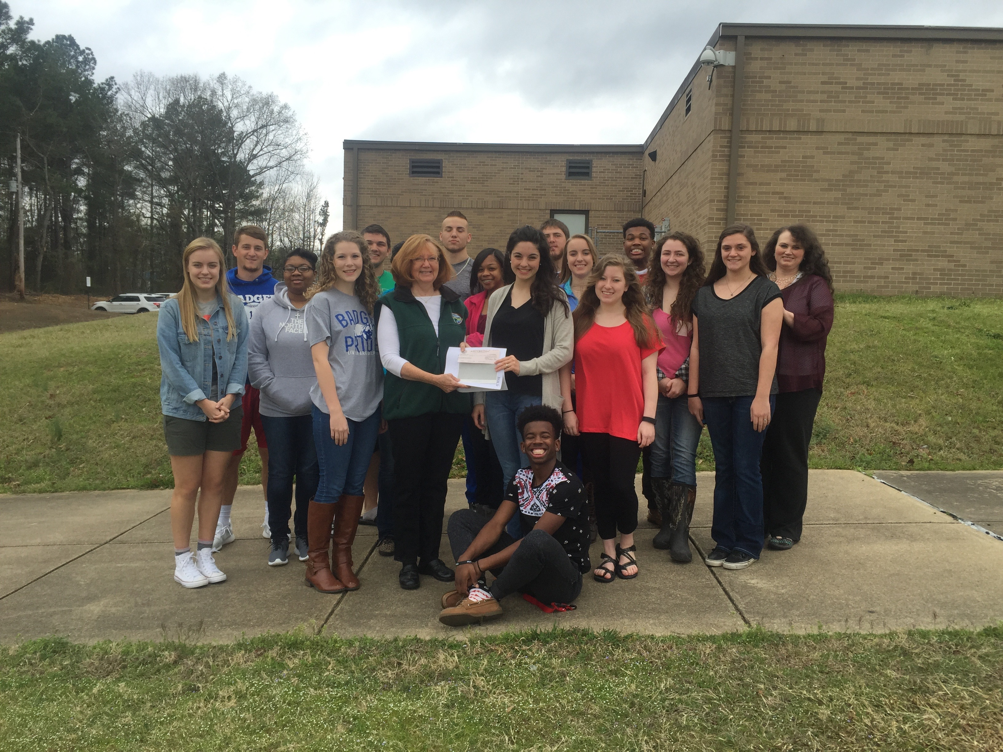 AHS AP Environmental Science students awarded grant from Arkansas Game and Fish Commission