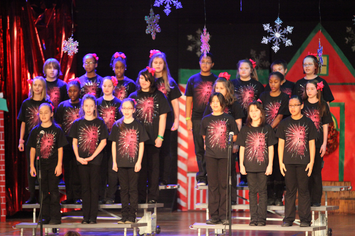 CS Dancers & New Edition Choir kickoff holiday show