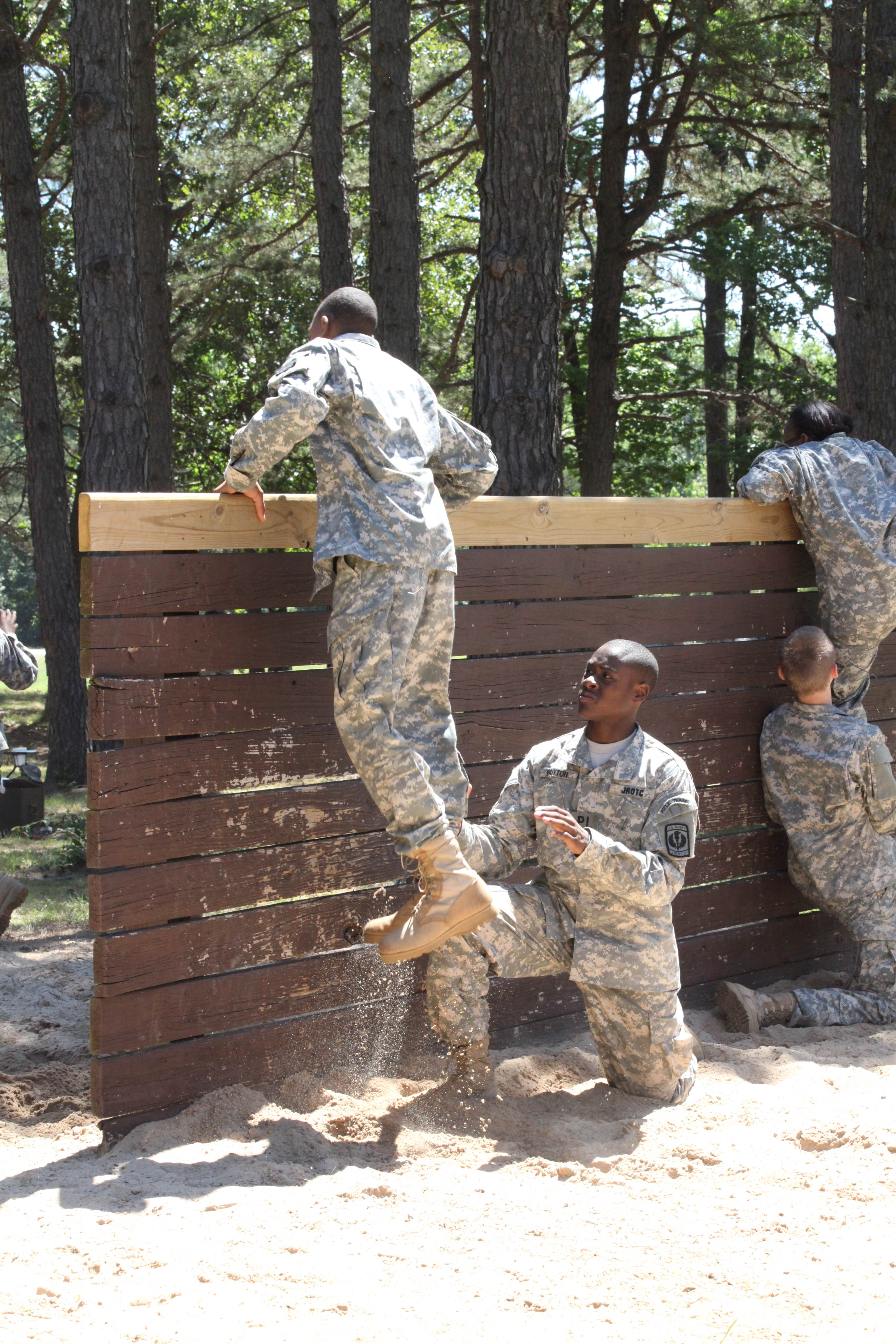 AHS Junior ROTC cadets attend Cadet Leadership Challenge