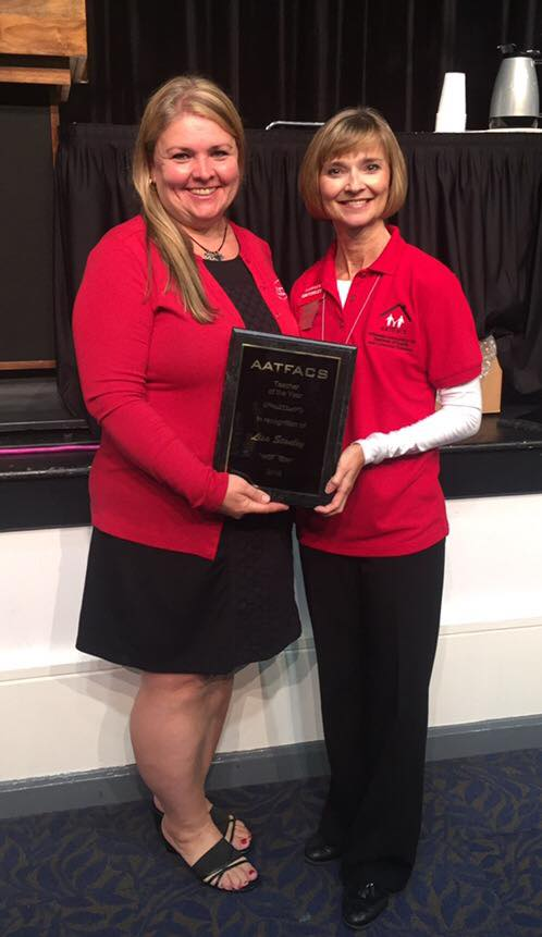Stanley named Teacher of the Year by the Arkansas Association of Teachers of Family and Consumer Sciences