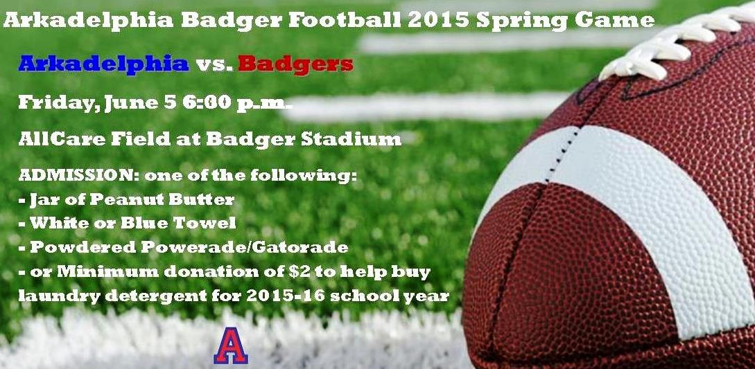 Badger Football Concludes Spring Practice with Friday Night Spring Game
