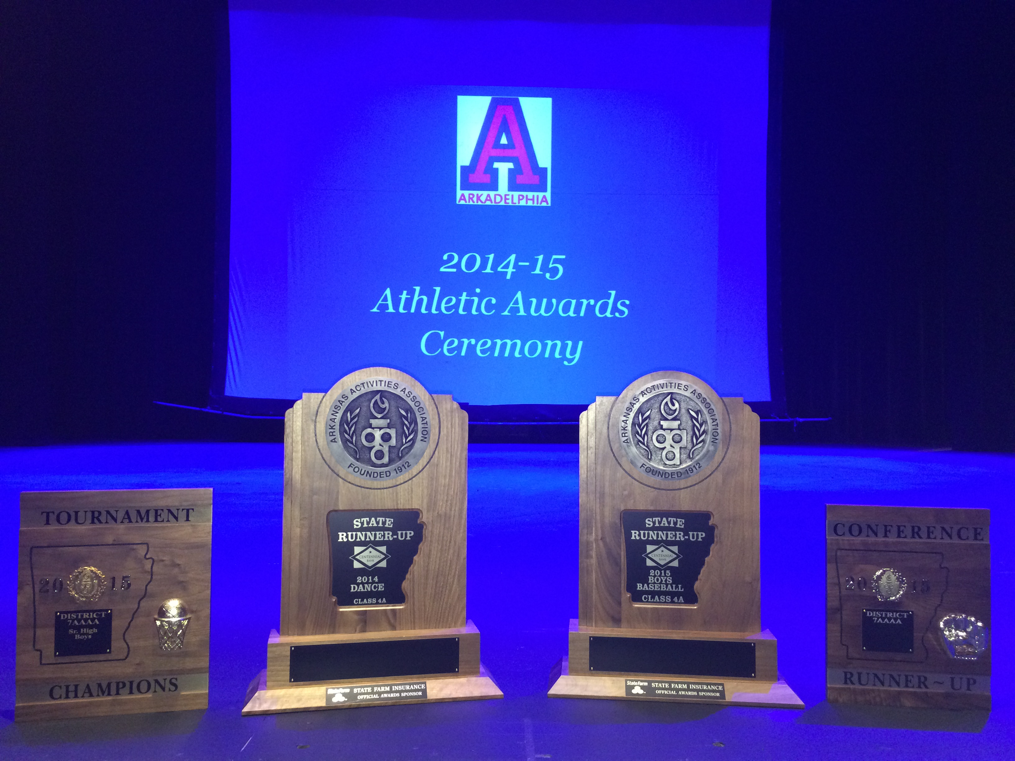 AHS Athletics Recognizes Students at Annual Awards Ceremony