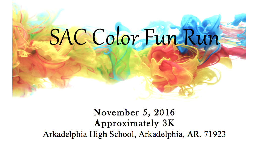 AHS Senior Advisory Committee hosts Color Fun Run