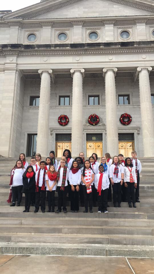 Peake choir performs at State Capitol