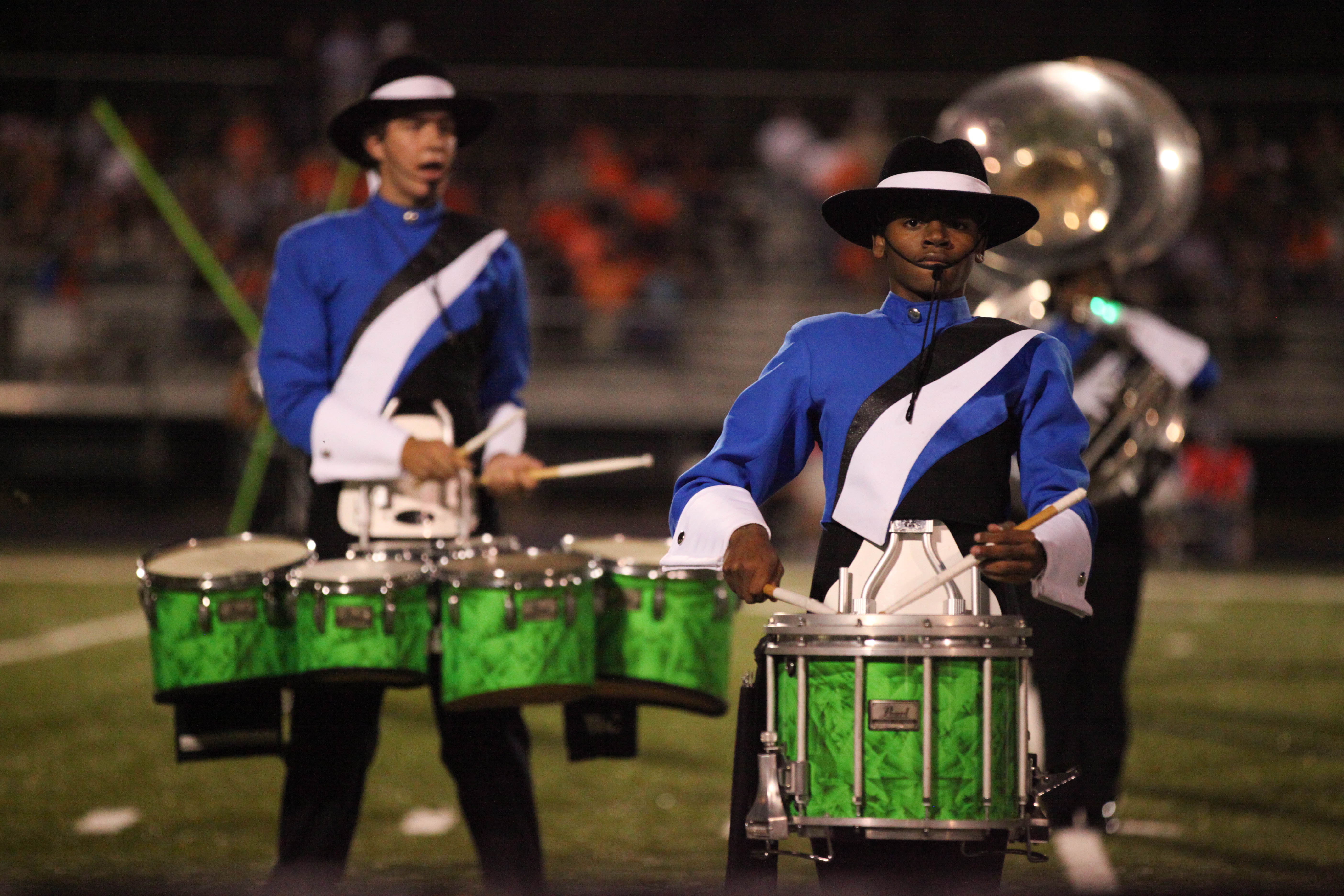 ​Badger Pride Marching Band Places as Overall Outstanding Band in Showcase