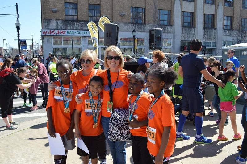 Badgers on the Run prepares for Little Rockers Kids Marathon