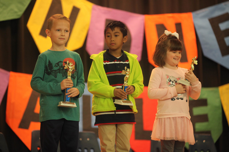 Central students advance to County Spelling Bee